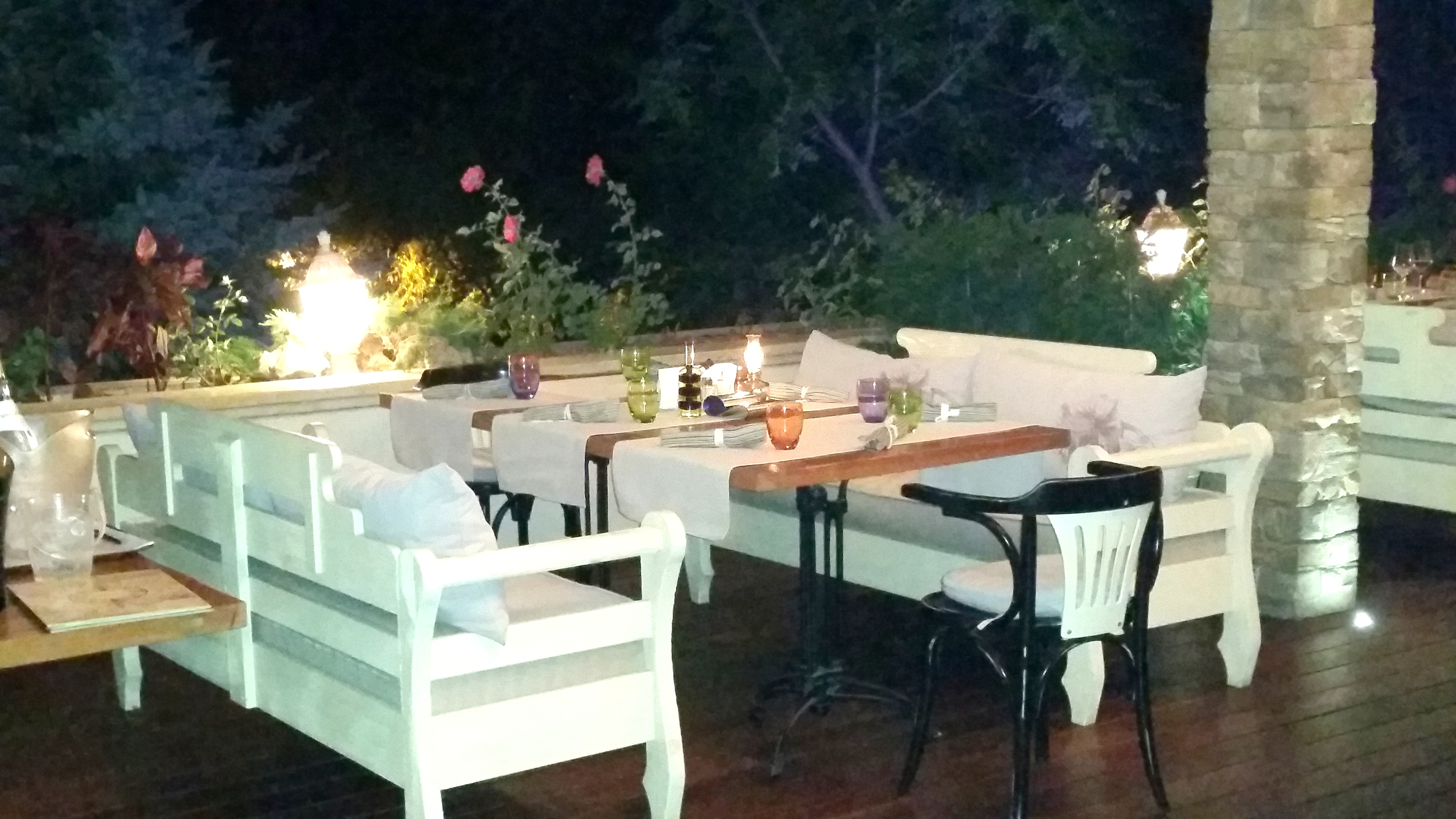 Stylish terrace at La Veranda in Varna by placescases.com