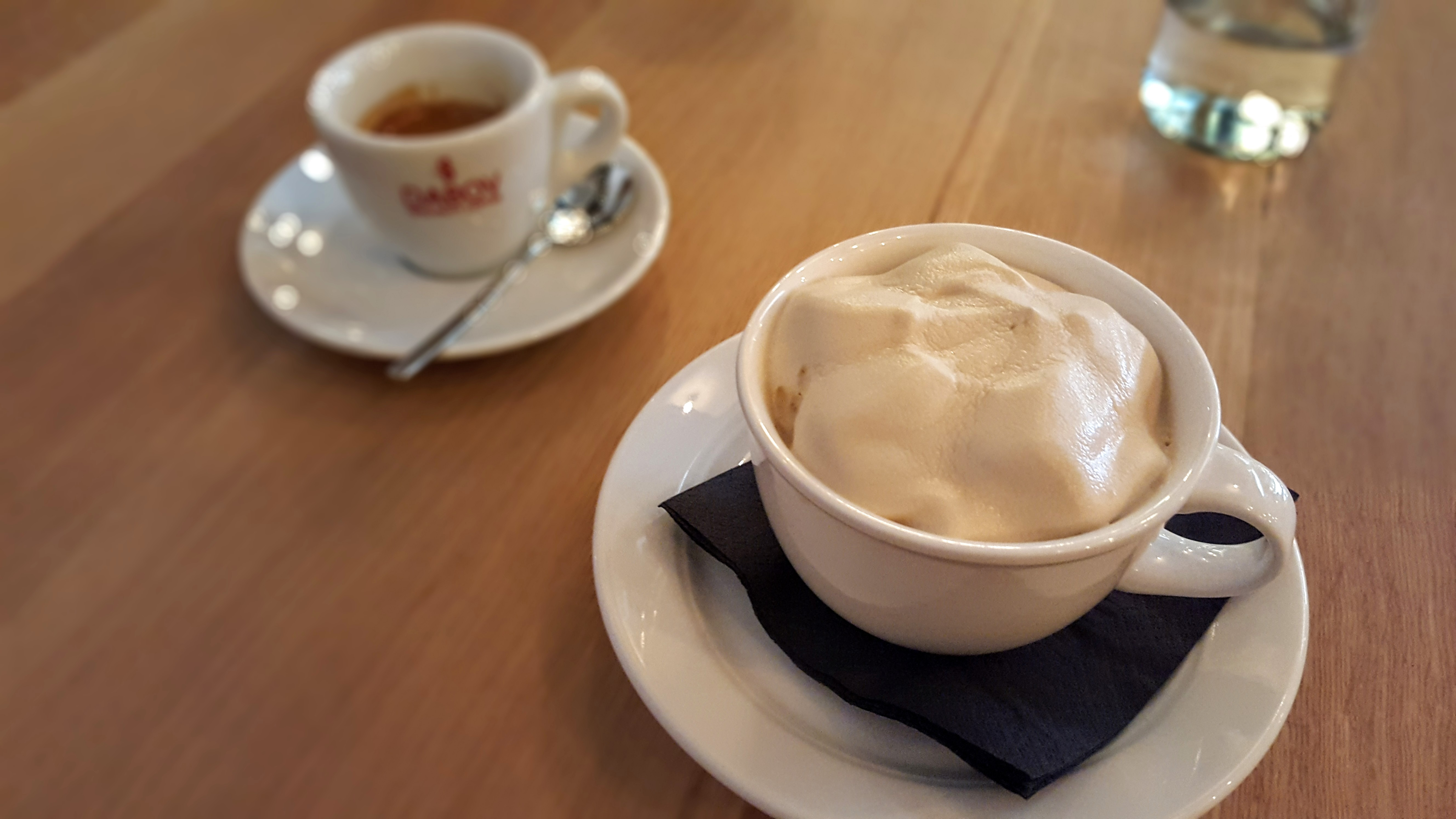 Cappuccino dessert at Cosmos by placescases.com.jpg