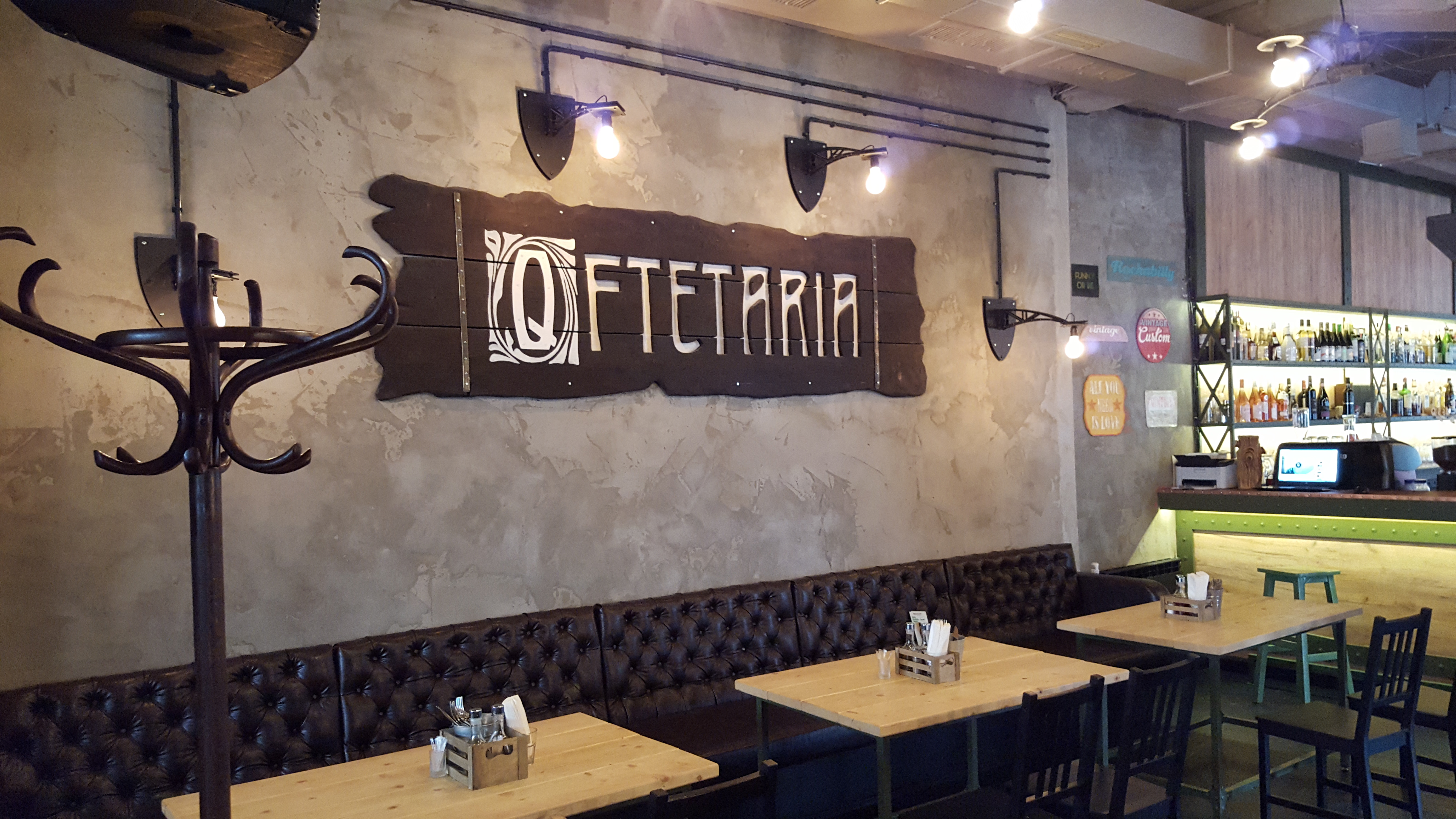 Tables at Q-ftetaria by placescases.com